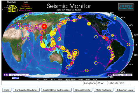 Seismicmonitormap