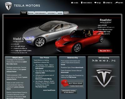 Teslamotorssite