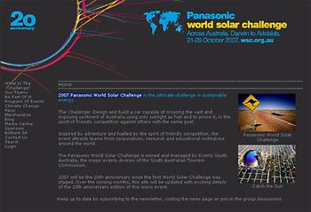 Worldsolarchallange2007