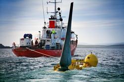 Oceantidalturbineinstallationsea