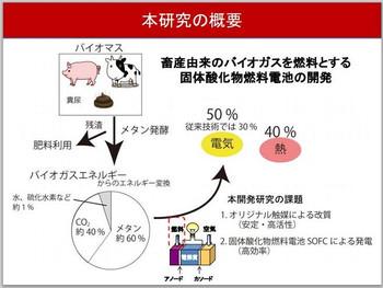 Okayama_univ_biogas_fuelcell